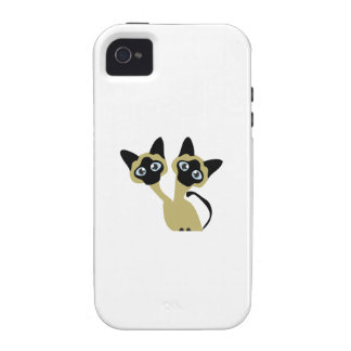 Siamese Cats Case For The iPhone 4