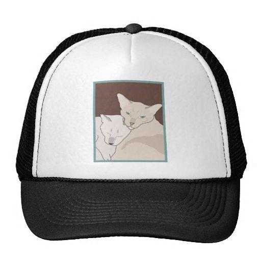 Siamese Cats Hats