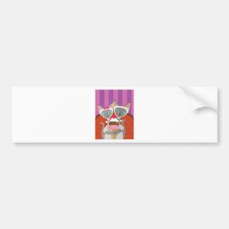 Siamese Cats Ice Cream Bumper Sticker