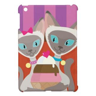 Siamese Cats Ice Cream Cover For The iPad Mini