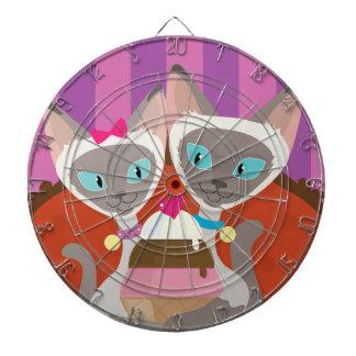 Siamese Cats Ice Cream Dart Boards