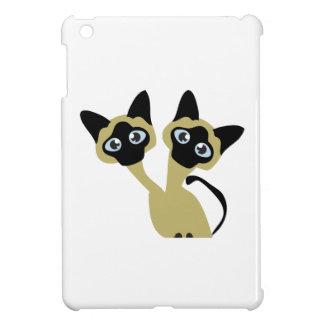 Siamese Cats Case For The iPad Mini