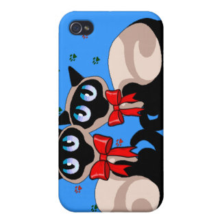 Siamese Cats  iPhone 4/4S Cover