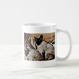 Siamese Cats of Yore Coffee Mug