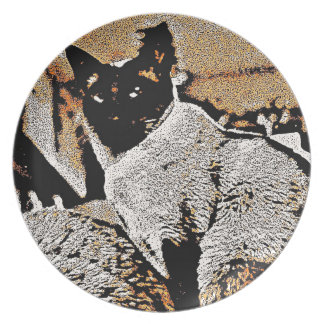 Siamese Cats of Yore Dinner Plate