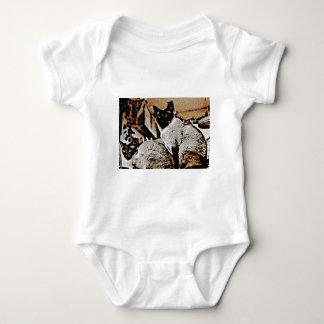 Siamese Cats of Yore T Shirt