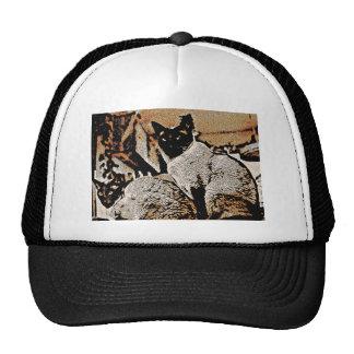 Siamese Cats of Yore Trucker Hat