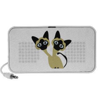 Siamese Cats Travel Speaker
