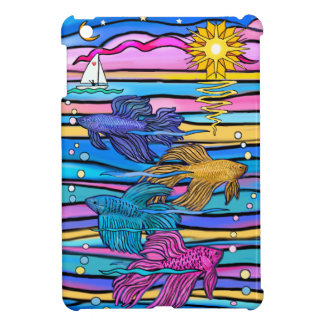 Siamese Fighting (Betta) Fish iPad Mini Case