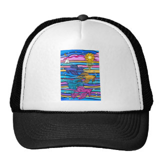 Siamese Fighting (Betta) Fish Trucker Hat