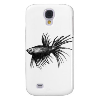 Siamese fighting fish- Betta splendens Galaxy S4 Cases