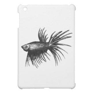 Siamese fighting fish- Betta splendens iPad Mini Covers