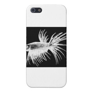 Siamese fighting fish- Betta splendens iPhone 5 Cases