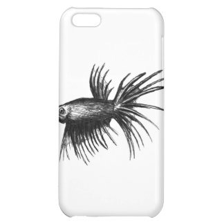 Siamese fighting fish- Betta splendens iPhone 5C Cases
