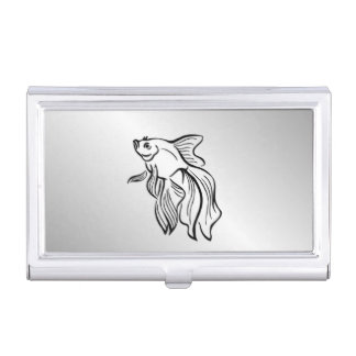 Siamese Fighting Fish Case For Business Cards