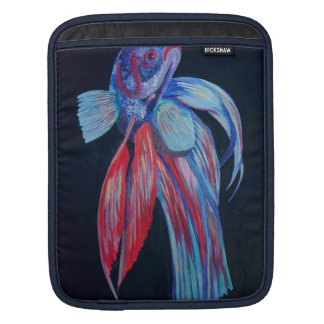 Siamese Fighting Fish iPad Sleeve