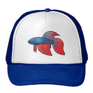 Siamese Fighting Fish Trucker Hat