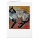Siamese Greeting Cards
