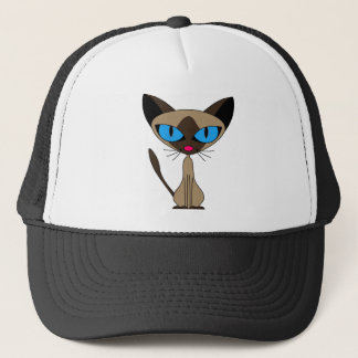 Siamese If You Please  - Cartoon Siamese Cat Hat