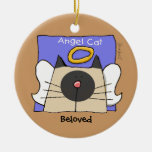 Siamese Keepsake Cat Angel Personalize Ornaments