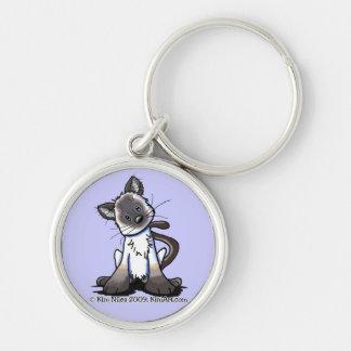 Siamese Kitten Keychain