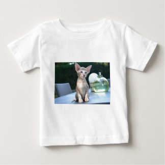 Siamese Kitten on a table Baby T-Shirt