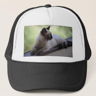 Siamese Kitten Photograph Trucker Hat