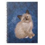 Siamese Kitten Spiral Notebooks