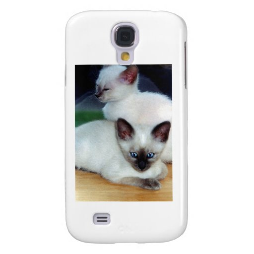 Siamese Kittens  Galaxy S4 Cover