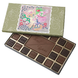 Siamese Kitty Love Fun 45 Piece Assorted Chocolate Box