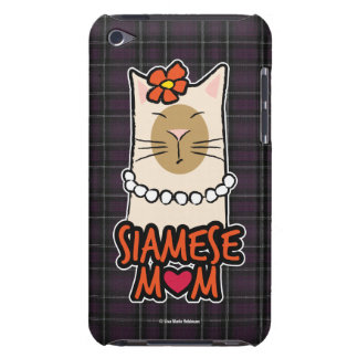 Siamese Mom Cat Lover iPod Touch Case-Mate Case