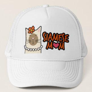 Siamese Mom / Mum Cat Lover Hat
