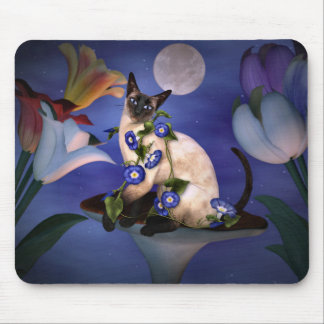 Siamese  Moonlight Mouse Mats