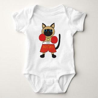 Siamese Muay Thai Baby Bodysuit