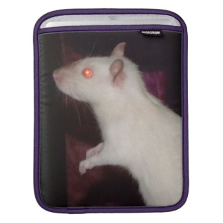 siamese rat Rickshaw iPad sleeve