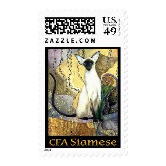 Siamese Stamp 2