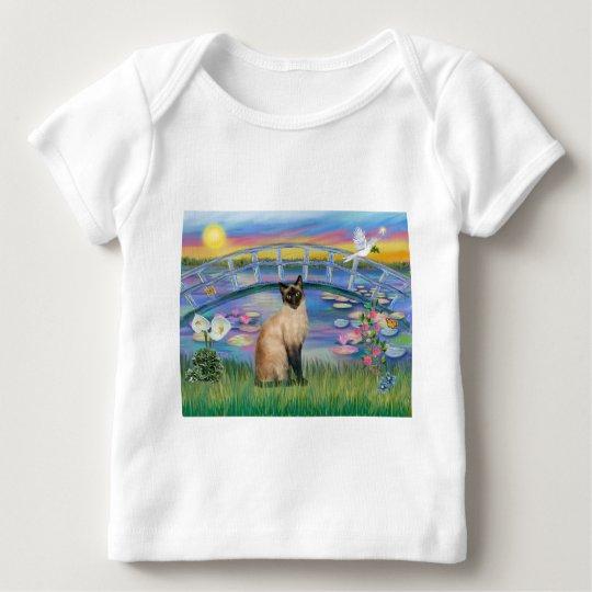 Siamese  - Sunrise Lilies Baby T-Shirt