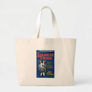 Siamese Twins - Daisy and Violet Hilton Tote Bags