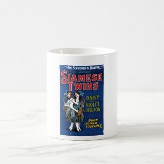 Siamese Twins - Daisy and Violet Hilton Classic White Coffee Mug