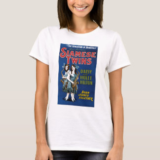 Siamese Twins - Daisy and Violet Hilton T-Shirt