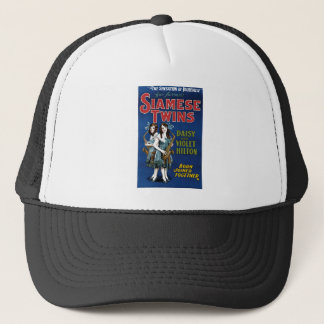 Siamese Twins - Daisy and Violet Hilton Trucker Hat