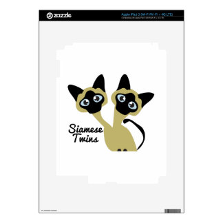 Siamese Twins Skins For iPad 3