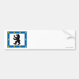 Siauliai County Flag Bumper Stickers