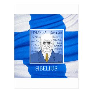 SIBELIUS postcard