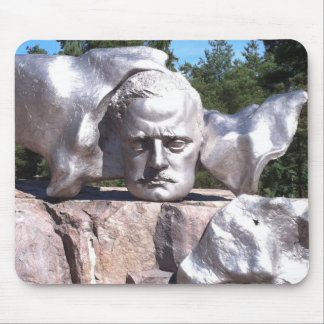 Sibelius's Head Mouse Pad