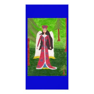 Siberian Angel Card