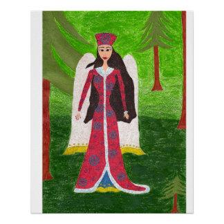 Siberian Angel Poster