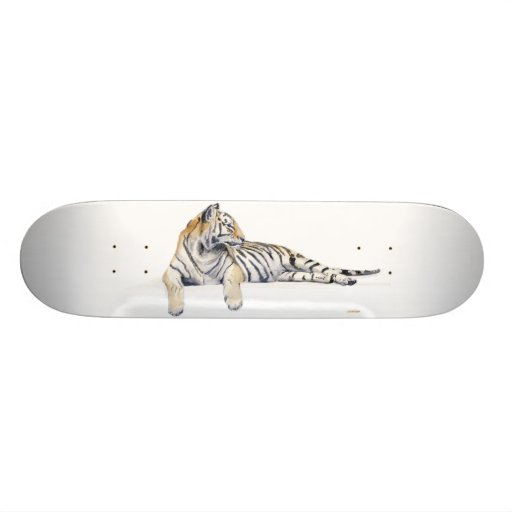 Siberian / Bengal Tiger Skateboard
