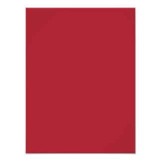 Siberian Bright Red Color Trend Blank Template Photograph