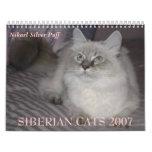 SIBERIAN CATS 2007 Calendar...